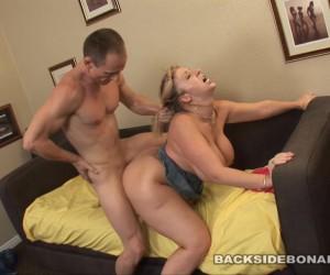 BACKSIDE Phat Ass PAWG Sara Jay Big Tits Swinging