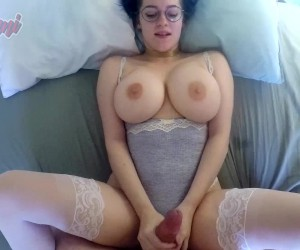 Busty Big Titty Babe POV Bouncing Boobs