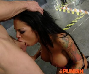 Punishbox Perfect Big Boobs Rough Tittyfuck and Brutal Gangbang