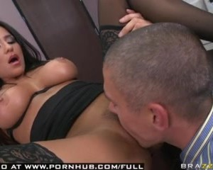 Brazzers Huge Boobs Latina MILF Pornstar Pussy Eating Orgasm