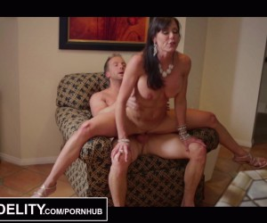 PORNFIDELITY Big Boobs MILF Housewife gets a Messy Anal Creampie