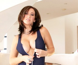 Jayden James Big Tits Bouncing and Round Ass Shaking