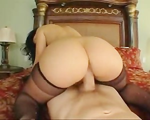 Luscious Lopez Thick Booty Bouncing and Swinging Big Tits