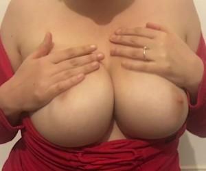 Huge Tits MILF Pussy Cum Orgasm