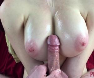 Perfect Natural Oiled Teen Tits