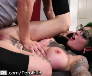 BurningAngel Tattooed Punk Girl with Big Tits