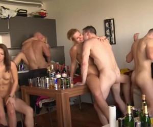 Nice Big Tits Hardcore Group Sex Orgy