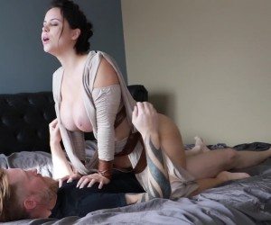 Bryci Big Tits Cosplay Blowjob