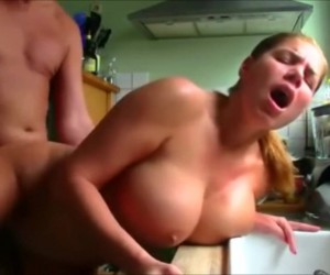 Busty Mature Cougar with Nice Big Tits Fucked Doggystyle
