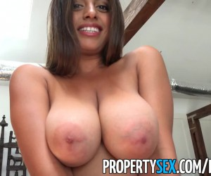 PropertySex Huge Ass Latina with Perky Big Tits